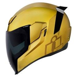 Casco Icon Airflite MIPS Jewel Dorado